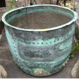Antique Portuguese Terra Cotta Pot