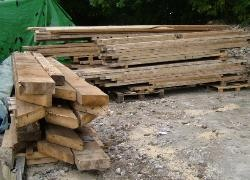 Hardwood Railway Sleepers